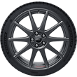 "Performance Rad 18"" leichtes flow-form Sommerkomplettrad mit Ford Performance Logo, 10-Speichen-Design, Magnetite Matt"